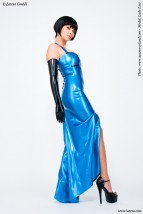 latexowa suknia wieczorowa 3178