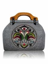 Filcowa torebka kufer Haft Ludowy NEW FOLK