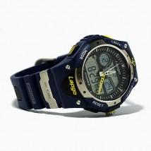 Zegarek wodoodporny wodoszczelny sportowy zima lato męski niebieski