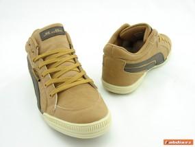 Męskie obuwie sportowe 13M186 brązowe