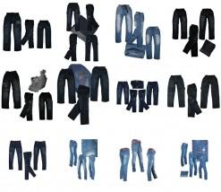 Spodnie jeans dla dzieci