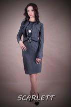 Sukienka biznesowa KONSTANCJA model nr 106