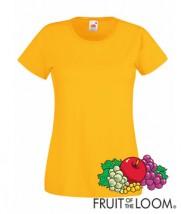 Koszulki damskie 165g z nadrukiem