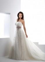 Suknia Ślubna Księżniczka - NP1621 Fantagiro