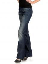 Dżinsy bootcut damskie Cherock