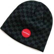 Dwuwarstwowa zimowa czapka OZOSHI C01 szachownica