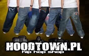 Spodnie hip hop skate rap