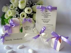 Podziękowania dla gości weselnych