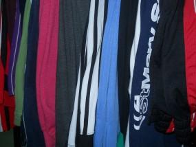 Używane Spodnie sportowe bawełna- odzież z USA