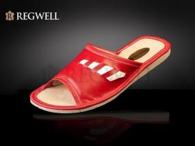 Pantofle skórzane dziecięce RZ0 050 - rozmiar 27