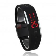 Opasa silikonowa zegarek LED