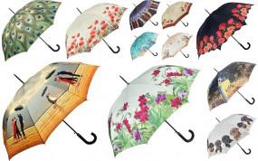 Elegancki parasol z motywem