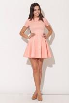 Dziewczęca rozkloszowana sukienka z paskiem Charisse k90
