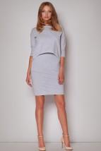 Asymetryczna sportowa sukienka Corella m206