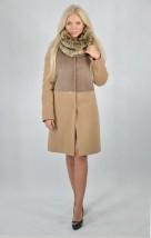 W małych i średnich rozmiarach ocieplony wełniany płaszcz damski Bella