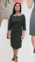 Wełniana sukienka damska do pracy w biurze
