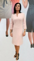 Gustowna sukienka damska do biura i na co dzień