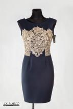 Elegancka ołówkowa sukienka na studniówkę, wesele
