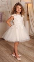 Sukienka wizytowa dla dziewczynki z tiulem