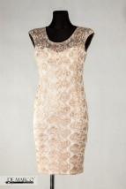 Piękna sukienka dla mamy panny młodej na wesele 2020