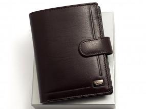 Portfel skórzany dla faceta Rovicky PC105L brązowy