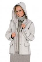 Zimowa kurtka damska w małych i dużych rozmiarach