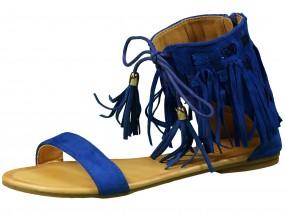 Sandały damskie z frędzlami w stylu Boho LY-35