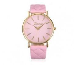 Różowy zegarek damski Geneva