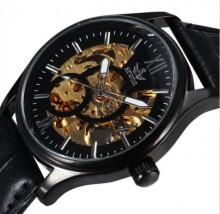 Zegarek Męski Nakręcany SEWOR BLACK Rotor 2016