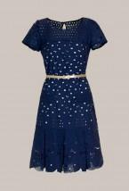 Bawełniana ażurowa sukienka damska PROMOCJA