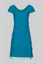 Damska sukienka wizytowa w kolorze morskim Estera