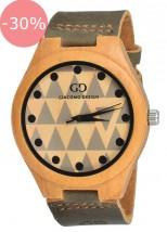 Zegarek Męski Giacomo Design GD08003 Bamboo Wood