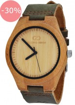 Zegarek Męski Giacomo Design GD08001 Bamboo Wood