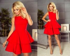 Sukienka Cristina czerwona - producent i hurtownia odzieży damskiej