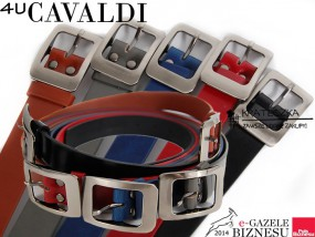 Klasyczny damski pasek Cavaldi - F40