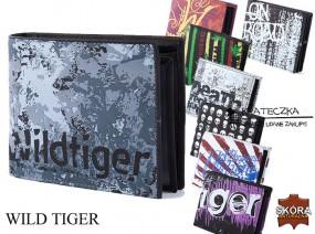 Młodzieżowy skorzany portfel marki wild Tiger F27