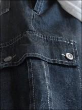 Spodnie bojówki Jeans-sztruks