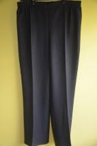 Spodnie popielato czarne