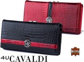 Elegancki i pojemny portfel Cavaldi F06