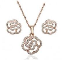 komplet biżuterii