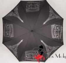 Parasol DOPPLER LANG AC laska PARIS czarny AUTOMAT