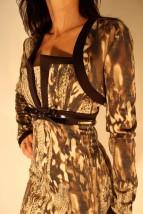 sukienka z bolerkiem komplet MONDOBELLO
