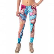 Legginsy damskie - termoaktywne, świetnie dopasowane sportowe legginsy dla kobiet