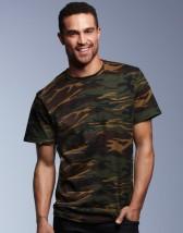 Podkoszulek Koszulka z nadrukiem Heavyweight Camouflage