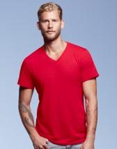 Lekki T-shirt Koszulka z nadrukiem V-Neck Tee