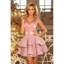 sukienka wieczorowa charlotte 200-5 powder pink