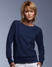 Bluza z nadrukiem damska bluza klasyczna French Terry