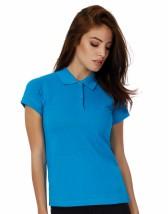 Koszulka z nadrukiem damskie polo Safran Pure/women
