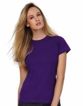 Koszulka z nadrukiem podkoszulek damski Exact 190/women