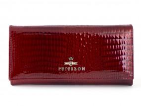 Damski portfel skórzany AE467 A R